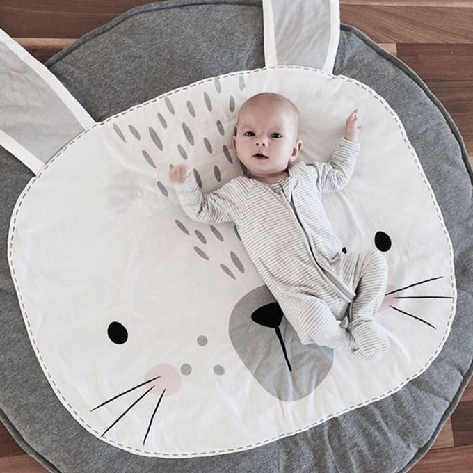 Bunny Baby Play Mat for Babies