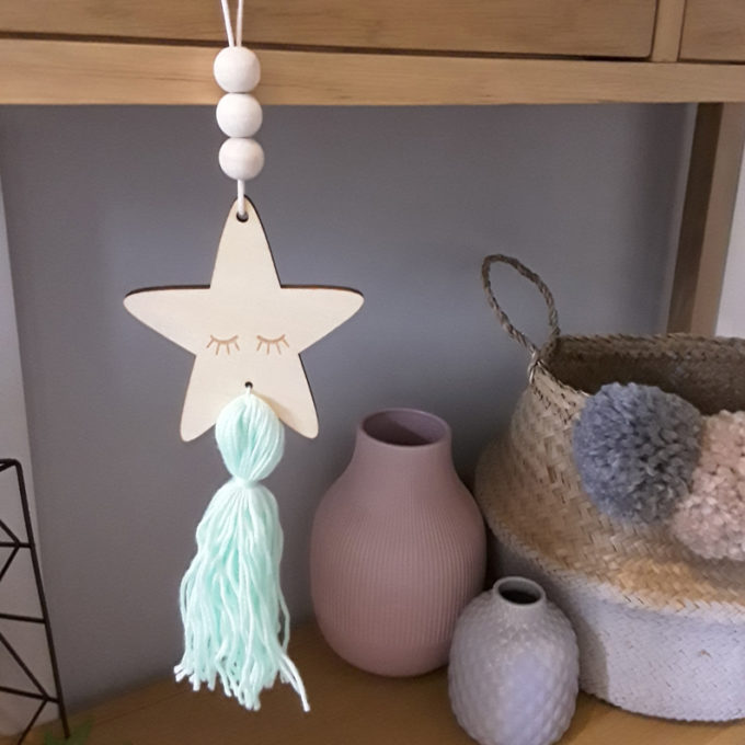 Green Decorative Star