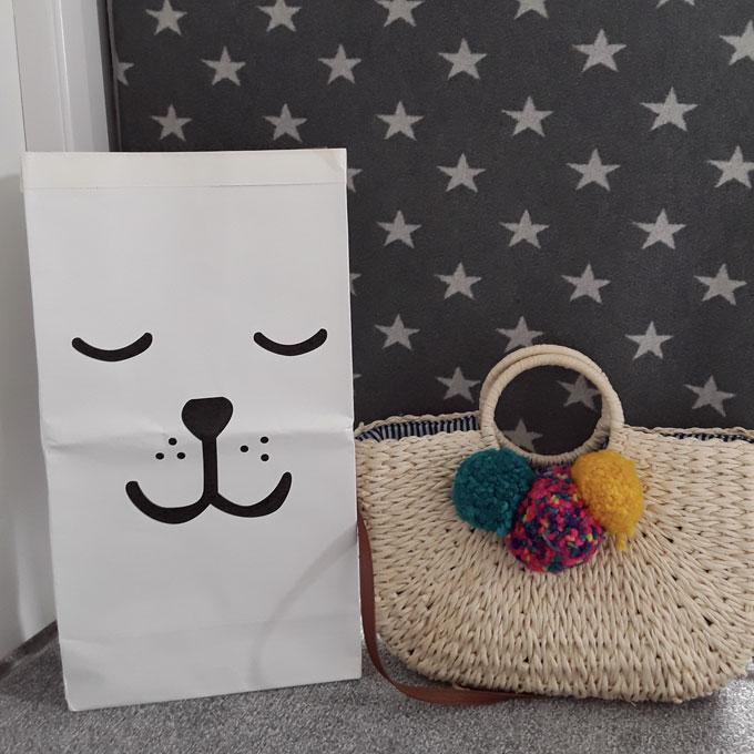Decorative Storage Bag Sleepy Dog