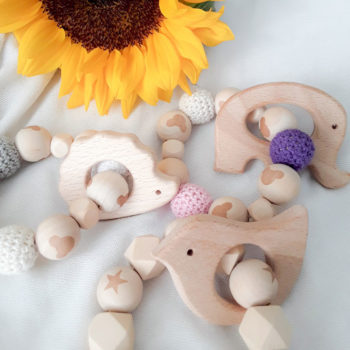 Wooden Teethers for Babies