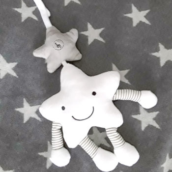 Plush Musical Star Toy